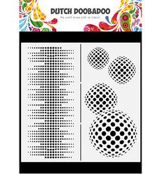 Dutch Doobadoo Slimline Circles -sapluuna