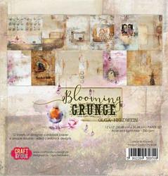 Craft & You paperipakkaus Blooming Grunge, 12