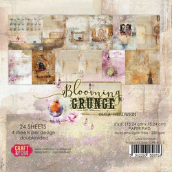 Craft & You paperipakkaus Blooming Grunge