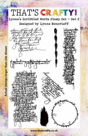 That's Crafty leimasinsetti Lynne's Scribbled Words 2