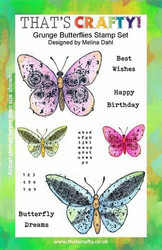 That's Crafty leimasinsetti Grunge Butterflies