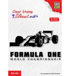 Nellie's Choice Silhouet leimasin Formula One Serie 2