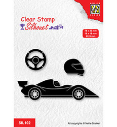 Nellie's Choice Silhouet leimasin Formula One Serie 1