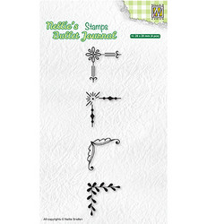 Nellie's Choice Bullet Journal leimasin Set Of Edges 2