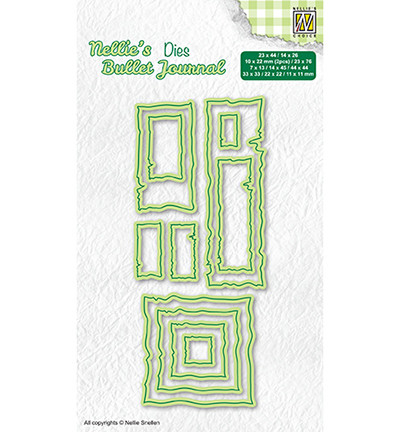Nellie's Choice Bullet Journal stanssi Frame