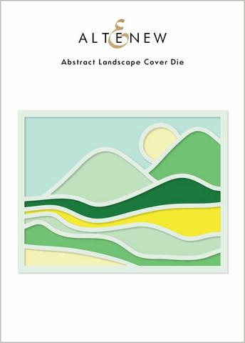 Altenew Abstract Landscape Cover -stanssi