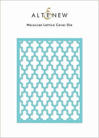 Altenew Moroccan Lattice Cover -stanssi