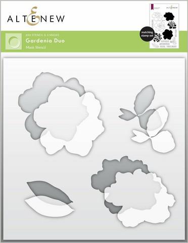 Altenew Gardenia Duo -sapluuna