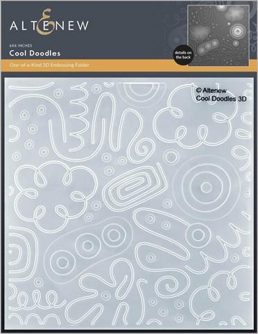 Altenew 3D kohokuviointikansio Cool Doodles