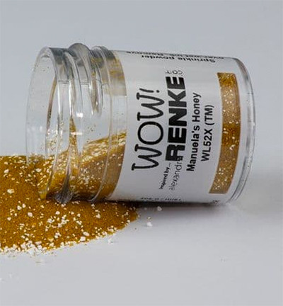 Wow! Colour Blends -kohojauhe, sävy Manuela's Honey, Mixture (TM)