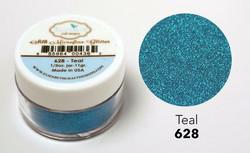 Elizabeth Craft Silk Microfine Glitter -jauhe sävy Teal
