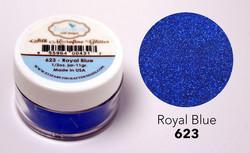 Elizabeth Craft Silk Microfine Glitter -jauhe sävy Royal Blue