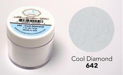 Elizabeth Craft Silk Microfine Glitter -jauhe sävy Cool Diamond