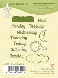 Leane Creatief leimasin Week/Days