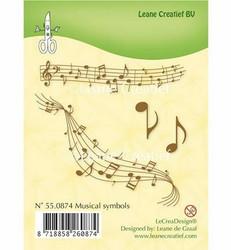 Leane Creatief leimasin Musical Symbols