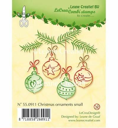 Leane Creatief leimasin Christmas Ornaments Small