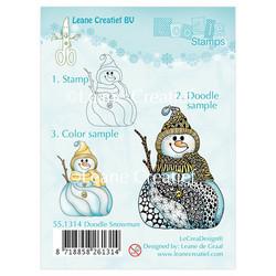 Leane Creatief leimasin Doodle Snowman