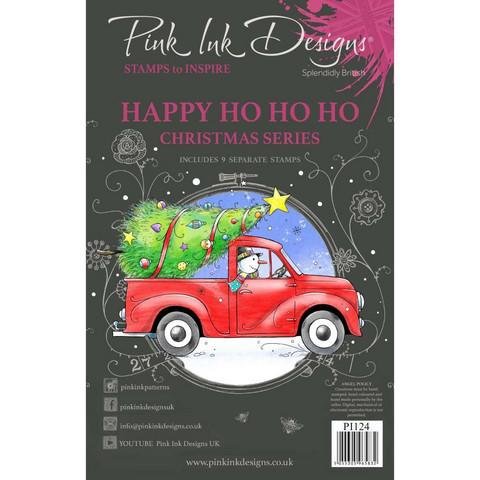 Pink Ink Designs leimasinsetti Happy Ho Ho