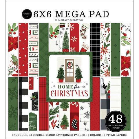 Carta Bella Home For Christmas - MEGA paperipakkaus