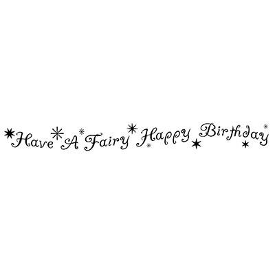 Lavinia Stamps leimasin Fairy Happy Birthday