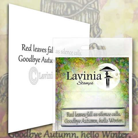 Lavinia Stamps leimasin Red Leaves