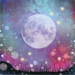Lavinia Stamps SceneScapes taustapaperi Midnight Magic