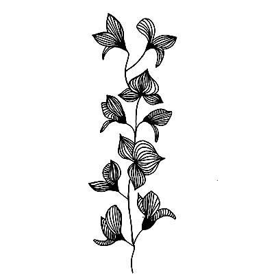 Lavinia Stamps leimasin Orchid