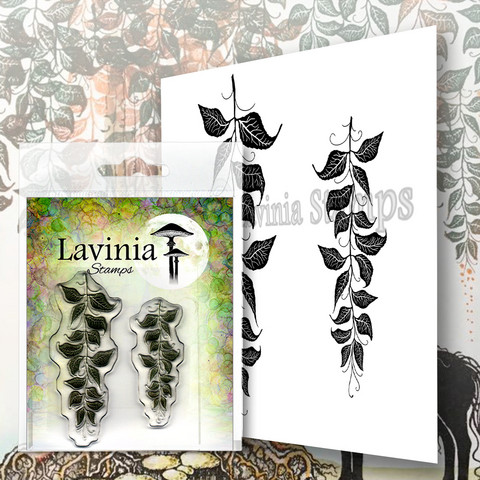 Lavinia Stamps leimasin Berry Leaves