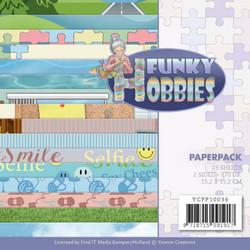 Yvonne Creations paperipakkaus Funky Hobbies