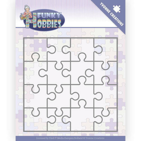 Yvonne Creations Funky Hobbies stanssi Puzzle