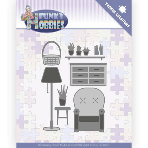 Yvonne Creations Funky Hobbies stanssi Living Room