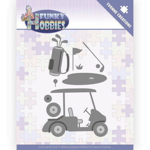Yvonne Creations Funky Hobbies stanssi Golf