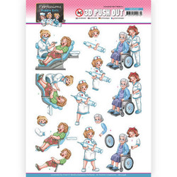 Yvonne Creations Bubbly Girls Professions 3D-kuvat Nurse