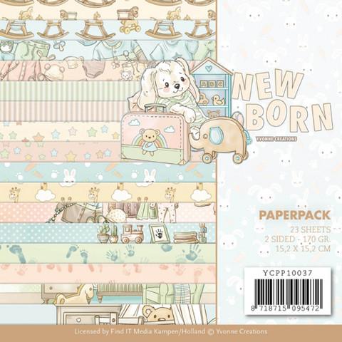 Yvonne Creations paperipakkaus New Born