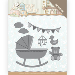 Yvonne Creations New Born stanssi Baby Crib