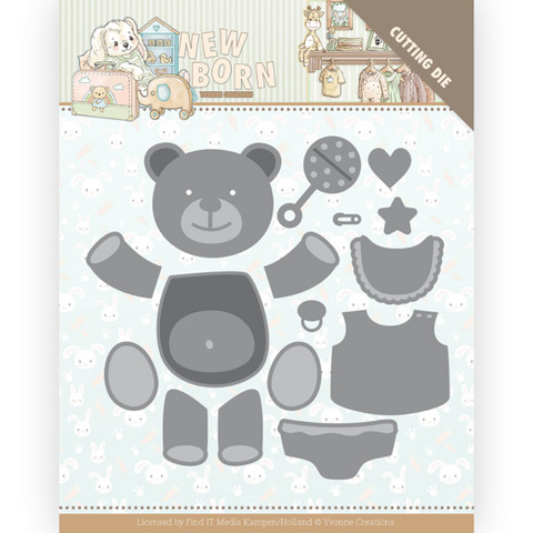 Yvonne Creations New Born stanssi Build Up Bear