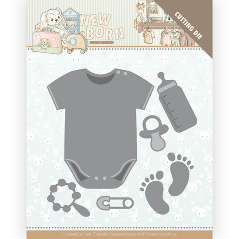 Yvonne Creations New Born stanssi Baby Bodyvest