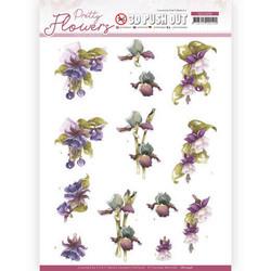 Precious Marieke Pretty Flowers 3D-kuvat Purple Flowers