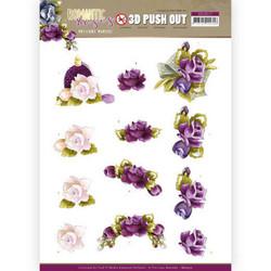 Precious Marieke Romantic Roses 3D-kuvat Purple Rose