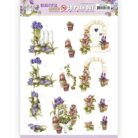 Precious Marieke Beautiful Garden 3D-kuvat Allium