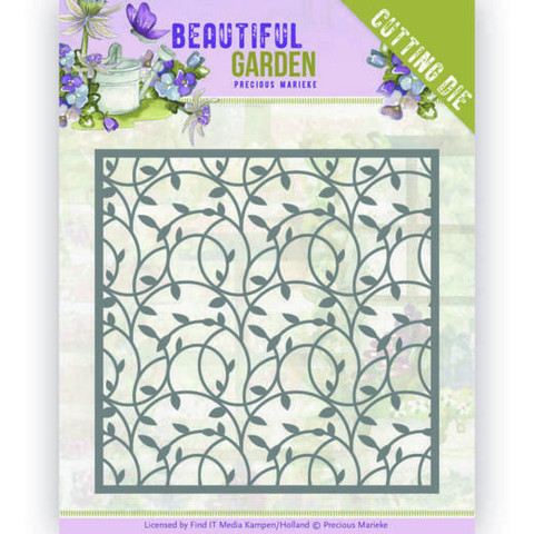 Precious Marieke Beautiful Garden stanssi Leaf Frame
