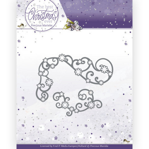 Precious Marieke The Best Christmas Ever stanssi Star Swirls