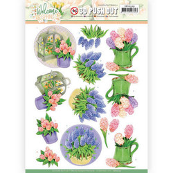 Jeanine's Art Welcome Spring 3D-kuvat Hyacinth