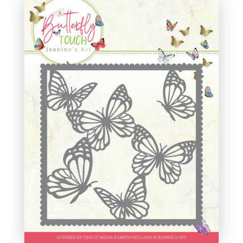 Jeanines Art Butterfly Touch stanssi Butterfly Frame