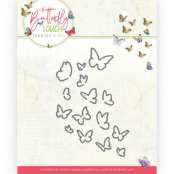Jeanines Art Butterfly Touch stanssi Bunch of Butterflies