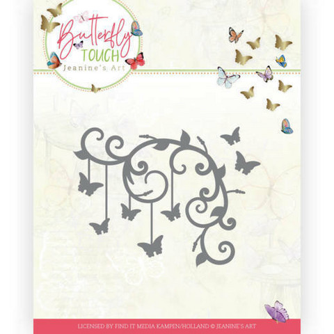 Jeanines Art Butterfly Touch stanssi Butterfly Corner