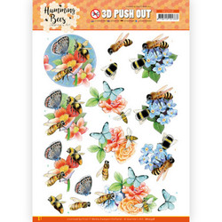 Jeanine's Art Humming Bees 3D-kuvat Bees and Bumblebee