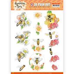 Jeanine's Art Humming Bees 3D-kuvat Bee Queen