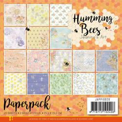 Jeanines Art paperipakkaus Humming Bees