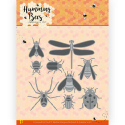 Jeanines Art Humming Bees stanssi All Kinds of Insects
